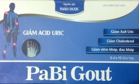 Gout abipha инструкция