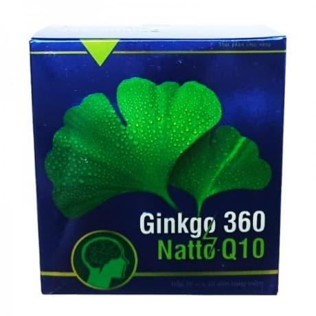 Ginkgo 360 natto q10 инструкция