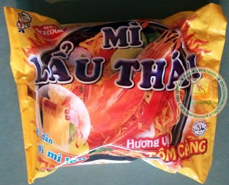 Лапша быстрого приготовления из вьетнама