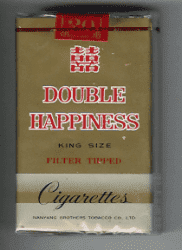 СИГАРЕТЫ DOUBLE HAPPINES KING SIZE. КИТАЙ.
