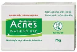 МЫЛО (ACNES WASHING BAR) - ДЛЯ ОЧИЩЕНИЯ КОЖИ ОТ ЧЕРНЫХ ТОЧЕК, УГРЕЙ И АКНЕ - 75 ГР. ВЬЕТНАМ.