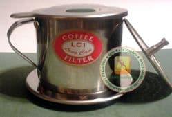 Вьетнамская кофеварка-фильтр (кофефильтр) - 350-400 ml. Пр-во Вьетнам.