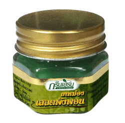 БАЛЬЗАМ - (BALM HOP HEADED BARLERIA GREEN HERB) – РЕДЧАЙШИЙ, БАЛЬЗАМ ОТ ГОЛОВНОЙ БОЛИ С ЭКСТРАКТОМ РАСТЕНИЯ БАРЛЕРИЯ - 20 ГР. ТАИЛАНД