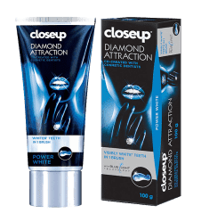 ЗУБНАЯ ГЕЛЕВАЯ ПАСТА - (CLOSEUP DIAMOND ATTRACTION TOOTH PASTE) - ОТБЕЛИВАЮЩАЯ - 100 ML. ВЬЕТНАМ